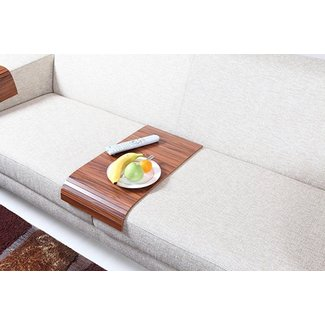 AnatolianWoods Wooden Sofa Tray Table » Gadget Flow