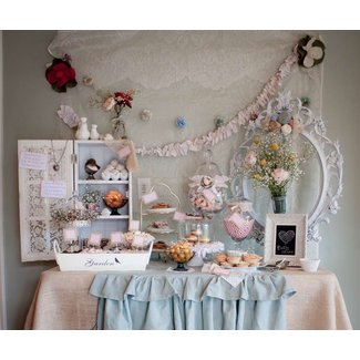 Anthropologie and Shabby Chic Style Baby Shower Party ...