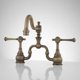 Antique Brass (amazing Antique Brass Kitchen Faucets #2 ...