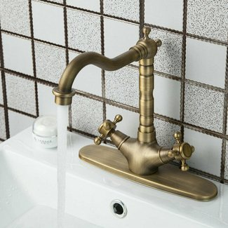 Antique Brass Kitchen Faucet. Antique Brass Kitchen Faucet ...