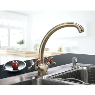 Antique Brass Kitchen Faucet You Ll Love In 2021 Visualhunt