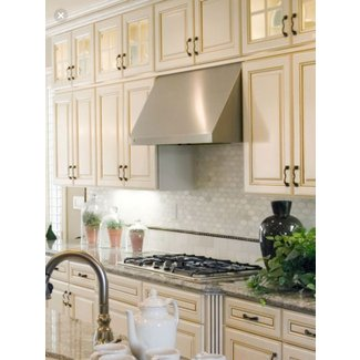 Antique White Kitchen Cabinets | Casual Cottage