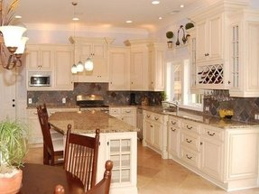 Antique White Kitchen Cabinets You Ll Love In 2020 Visualhunt