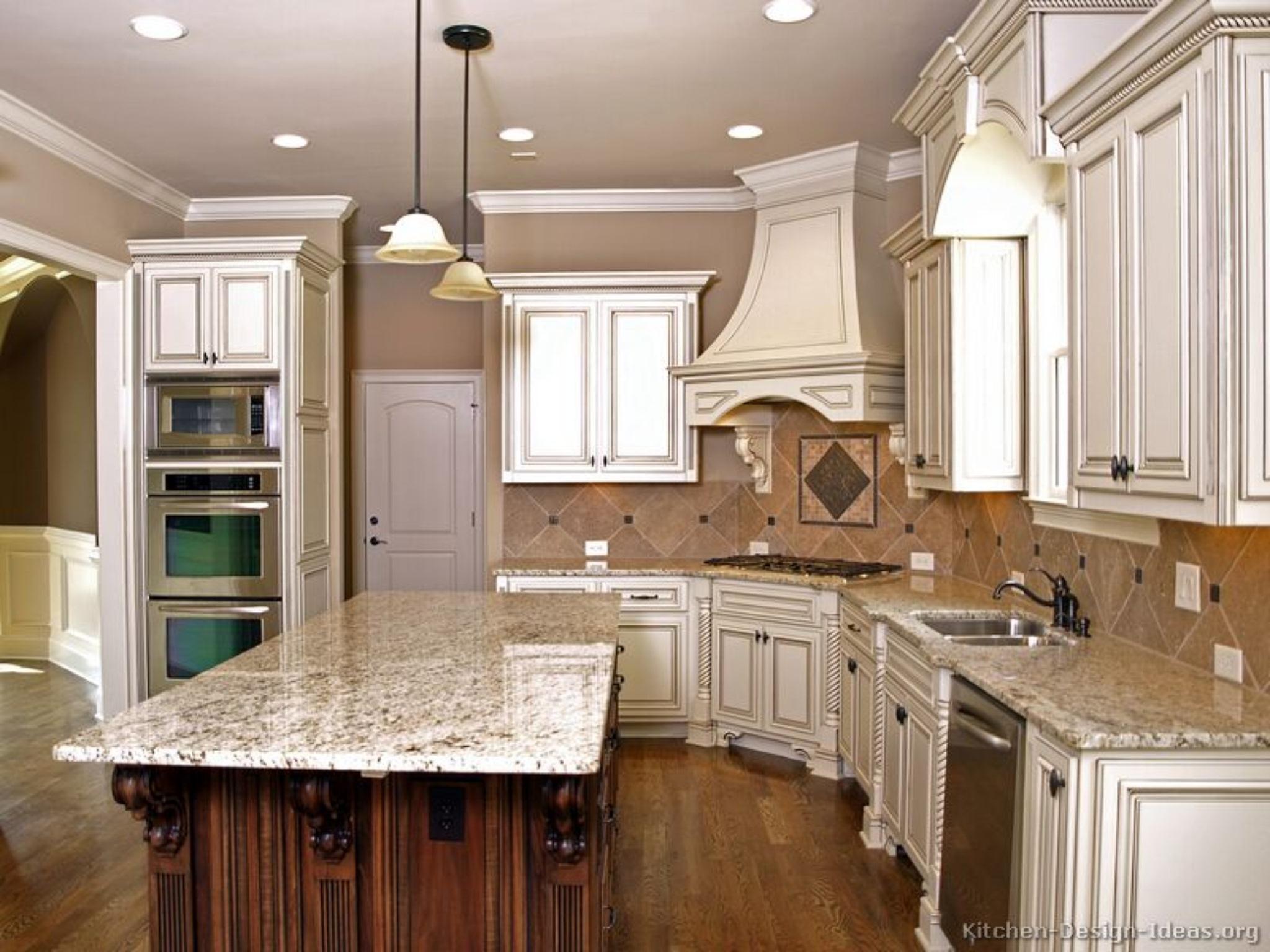 225 & Antique White Kitchen Cabinets - Visual Hunt