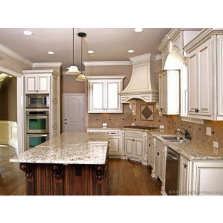 Antique White Kitchen Cabinets | Home Design and Decor Reviews