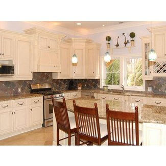 Antique White Kitchen Cabinets Home Design - Modern ...
