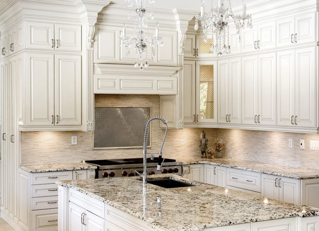 Antique White Kitchen Cabinets Improving Room Coziness .  sc 1 st  Visual Hunt & Antique White Kitchen Cabinets - Visual Hunt