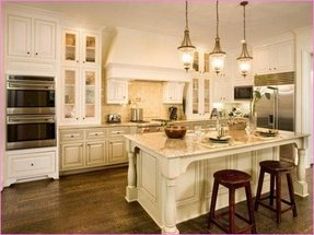 50 Antique White Kitchen Cabinets You Ll Love In 2020 Visual Hunt