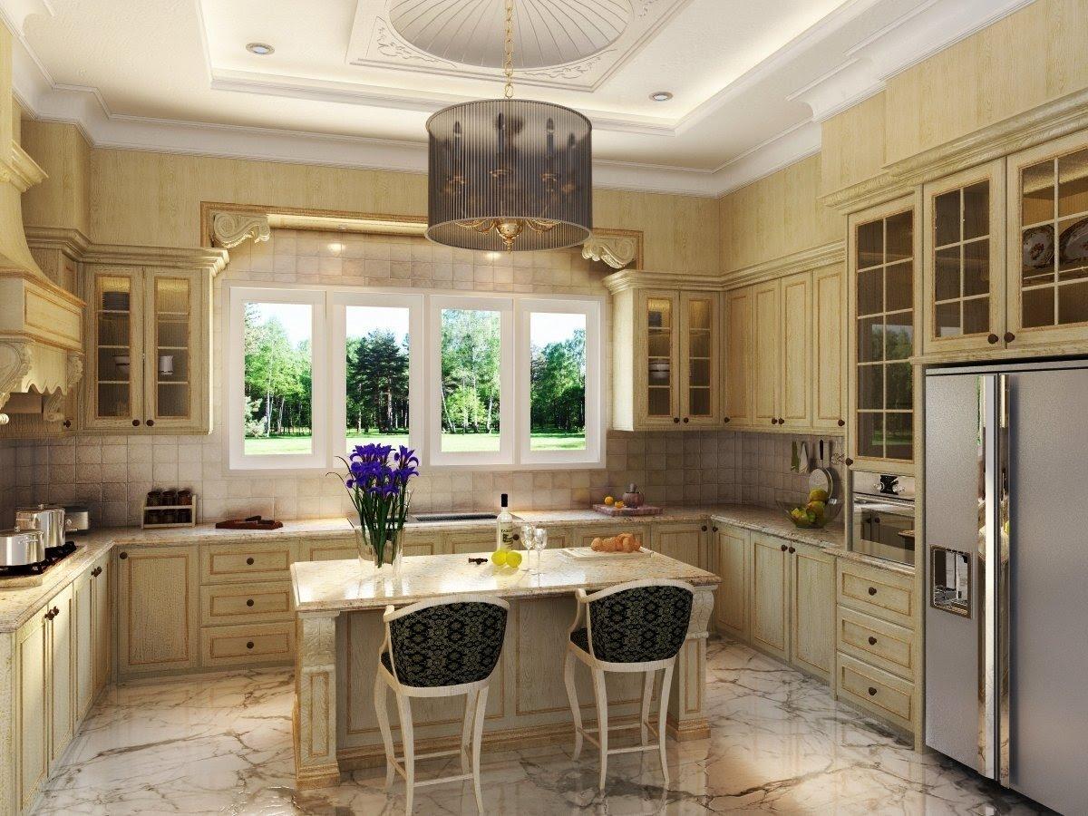 Antique White Kitchen Cabinets, Photo | Kitchens Designs Ideas