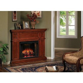 Artesian Cherry Corner Electric Fireplace :: Factory ...