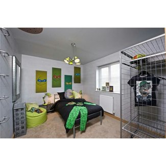 Awesome Ninja Turtle Bedroom Decorating Ideas Pictures ...