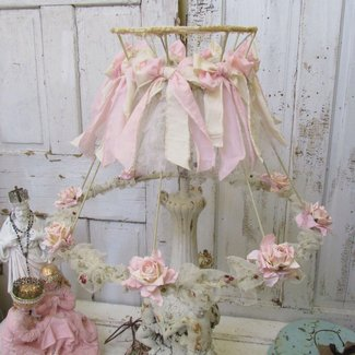 Awesome, Shabby chic and Lamp shades on Pinterest