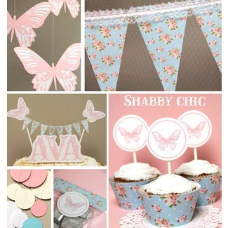 Baby Shower Food Ideas: Baby Shower Ideas Shabby Chic