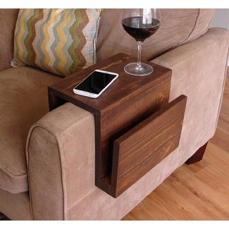 Bamboo Sofa Tray Tables - So That's Cool