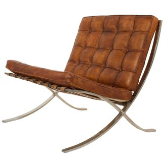 Barcelona Chair by Ludwig Mies Van Der Rohe at 1stdibs