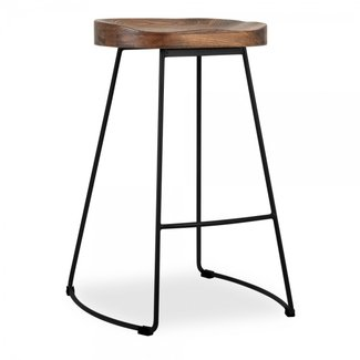 Basic Wooden Bar Stools Tags : wooden tractor seat bar