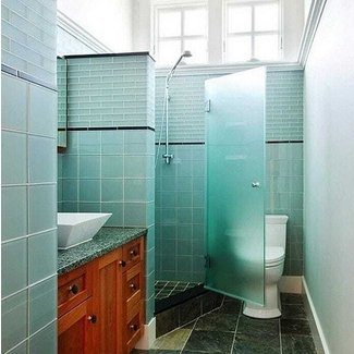 Bathroom Ideas on Pinterest | Corner Showers, Small ...