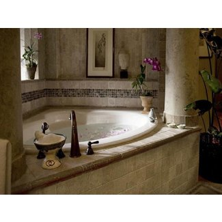 Bathtub soaker, bathroom designs with corner tubs corner ...