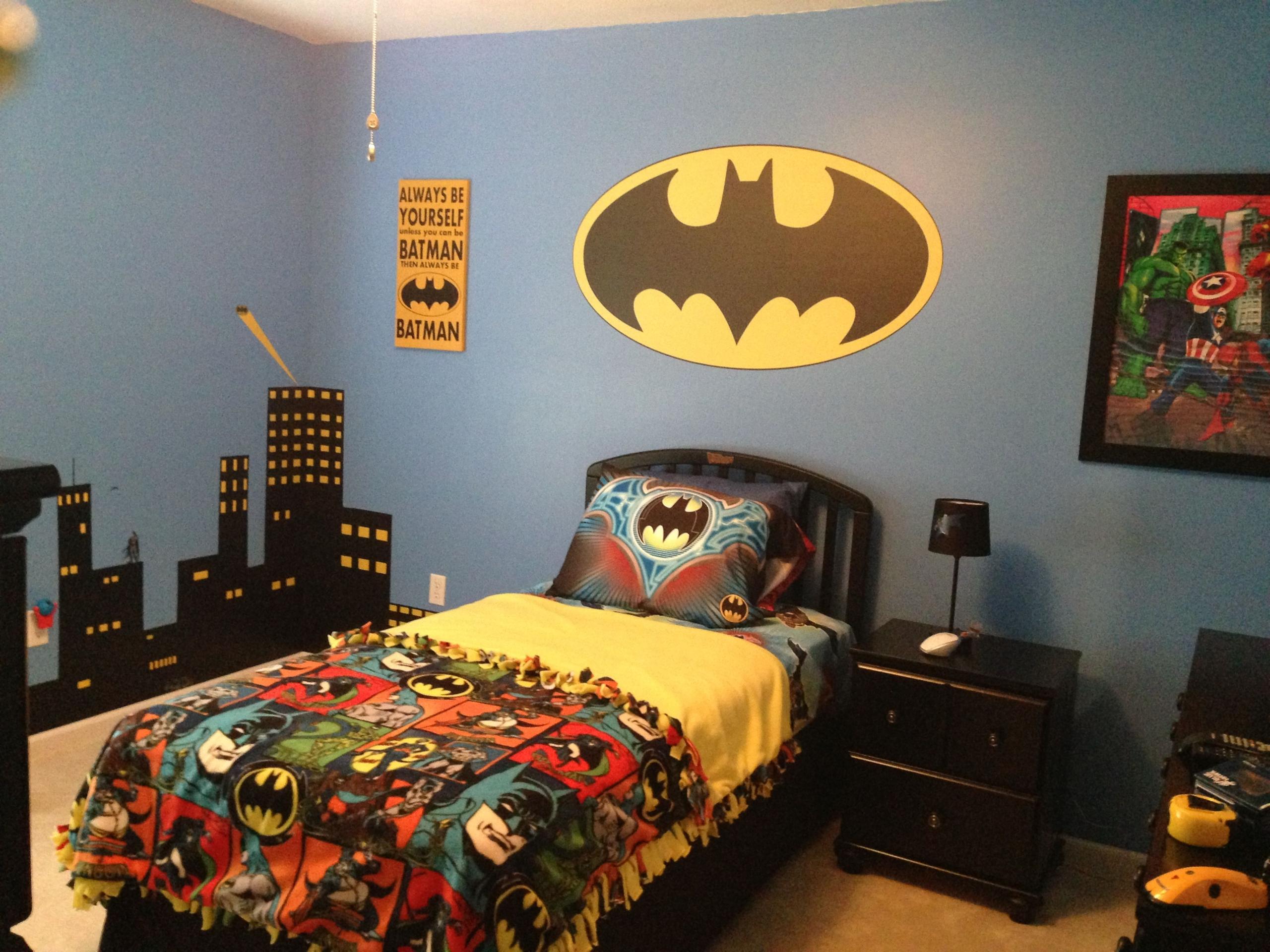 Batman Bedding And Bedroom Décor Ideas For Your Little .