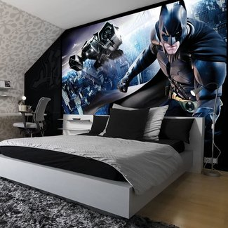 Batman Room Decor In Traditional Home Decoration Ideas ...