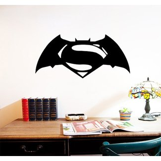 Batman superman Wall Decals home decor room decoration ...