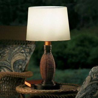 Battery Operated Outdoor Table Lamp - Improvements Catalog