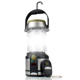 Battery Powered Lantern w/ Remote Control, 12 LED Lights ...