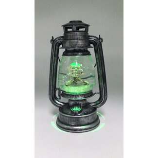 Battery Powered Led Water Globe Vintage Halloween Green ...