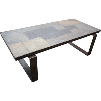 Beautiful Vintage Handmade Wrought Iron Art Coffee Table ...