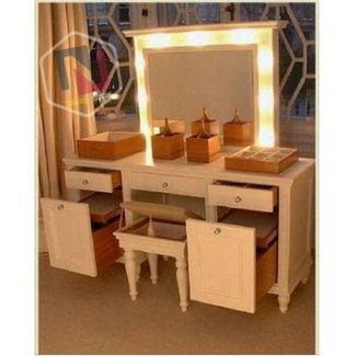 Bedroom. Gorgeous Bedroom Vanity With Lights Ideas. Nu ...