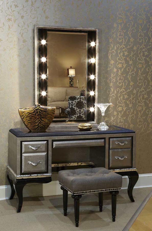 Bedroom Vanity With Lighted Mirror Jonie James Design .