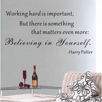 Believing in Yourself - Harry Potter Wall Decal