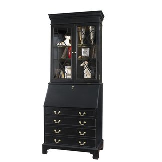 Bernard Traditional Painted Drawer Secretary Desk