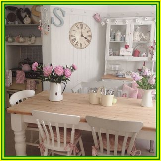 Shabby Chic Dining Table Visual Hunt