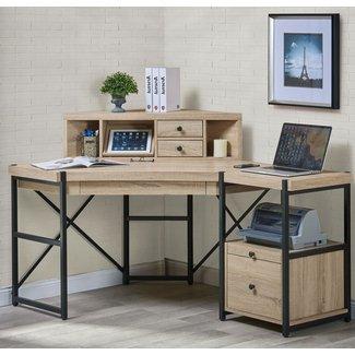 Best 25+ Corner desk with hutch ideas on Pinterest |