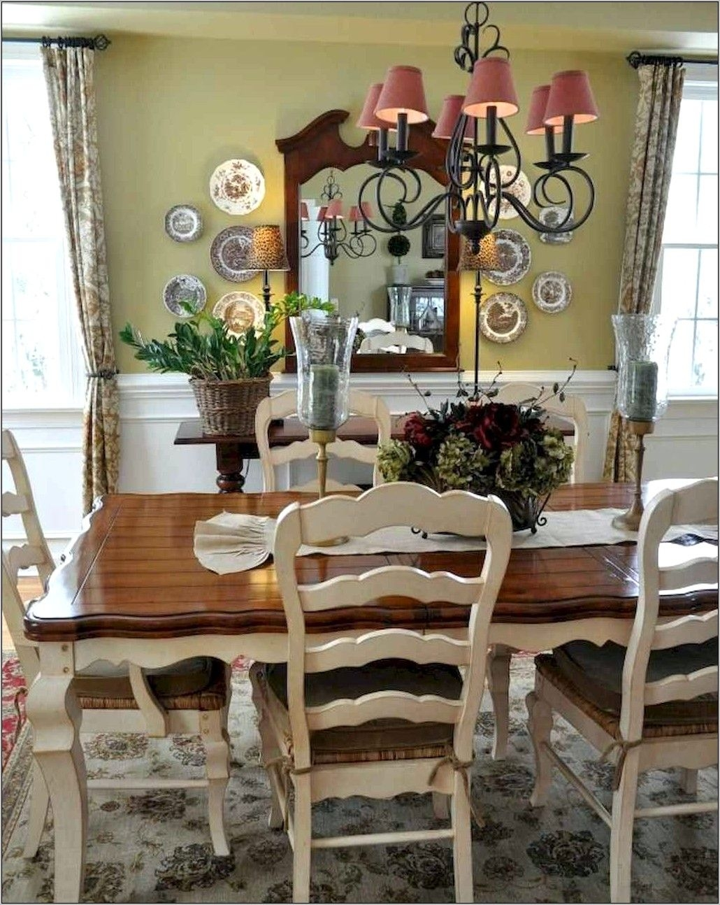 French Country Dining Table You Ll Love, French Country Style Dining Room Table And Chairs
