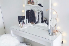 Dressing Table Mirror With Lights