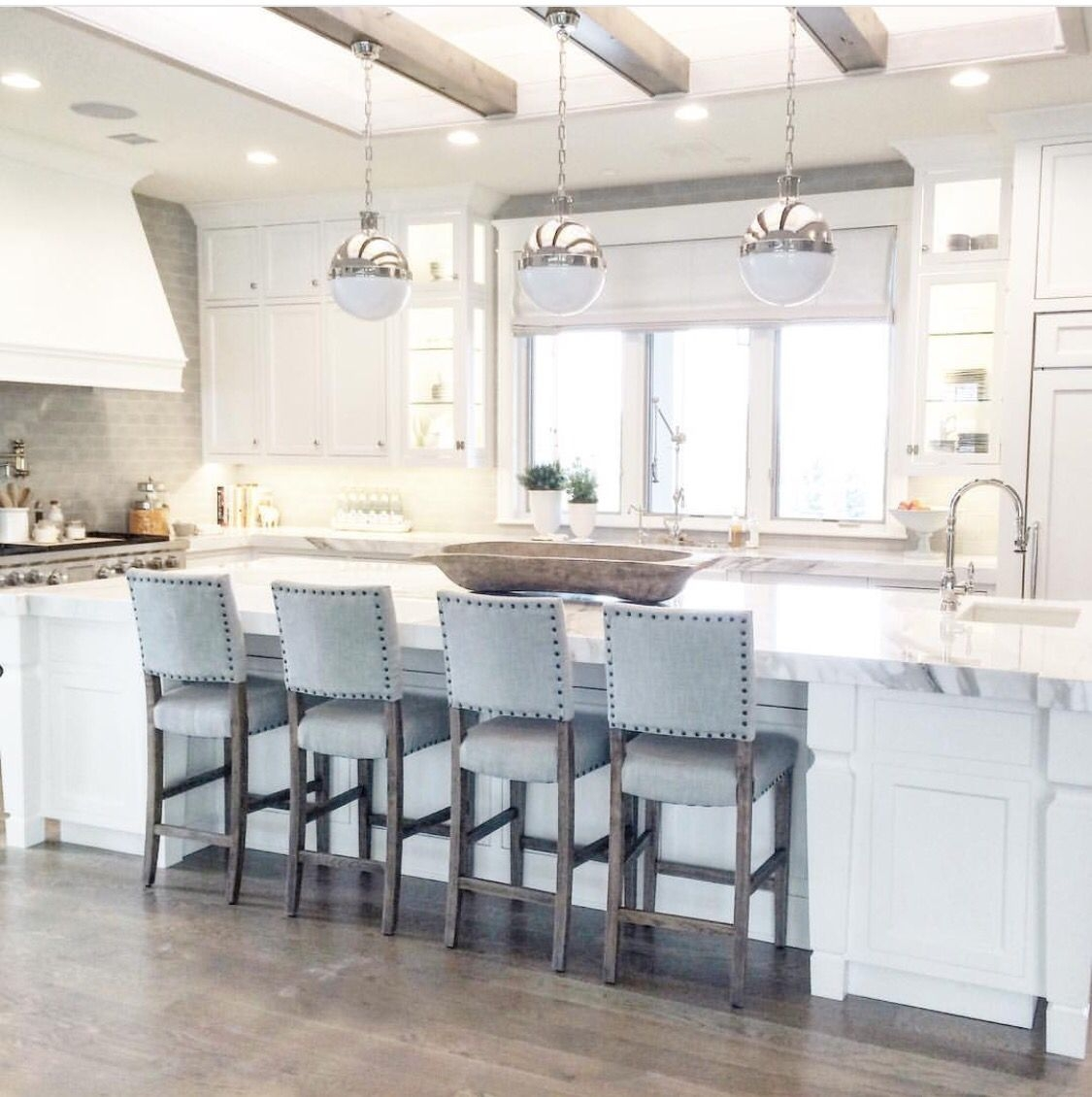 Kitchen Island With Bar Stools You Ll Love In 2021 Visualhunt