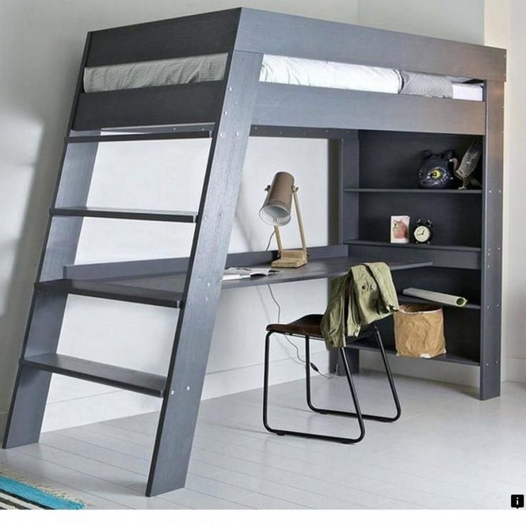 Full Size Loft Bed With Desk You Ll Love In 2021 Visualhunt