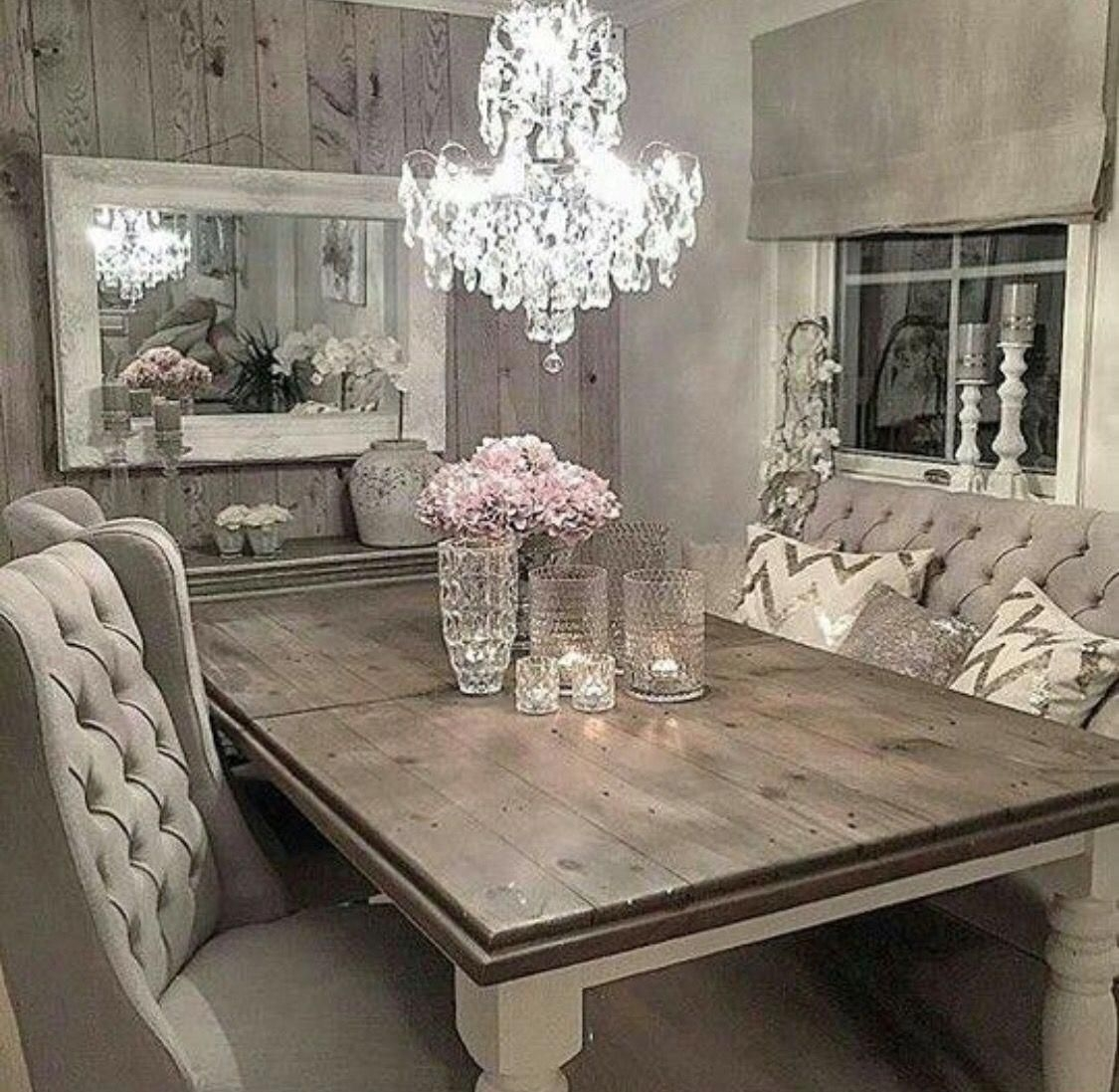 Shabby Chic Dining Table Visualhunt, White Shabby Chic Dining Room Sets