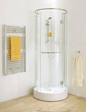 Corner Shower For Small Bathroom Visual Hunt