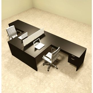 Magnificent 2 Person Desk Visual Hunt Home Interior And Landscaping Elinuenasavecom