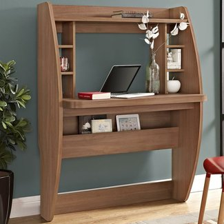 Best 25+ Wall mounted computer desk ideas on Pinterest ...