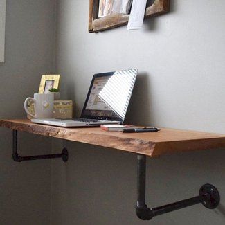 Best 25+ Wall mounted desk ideas on Pinterest | Floating