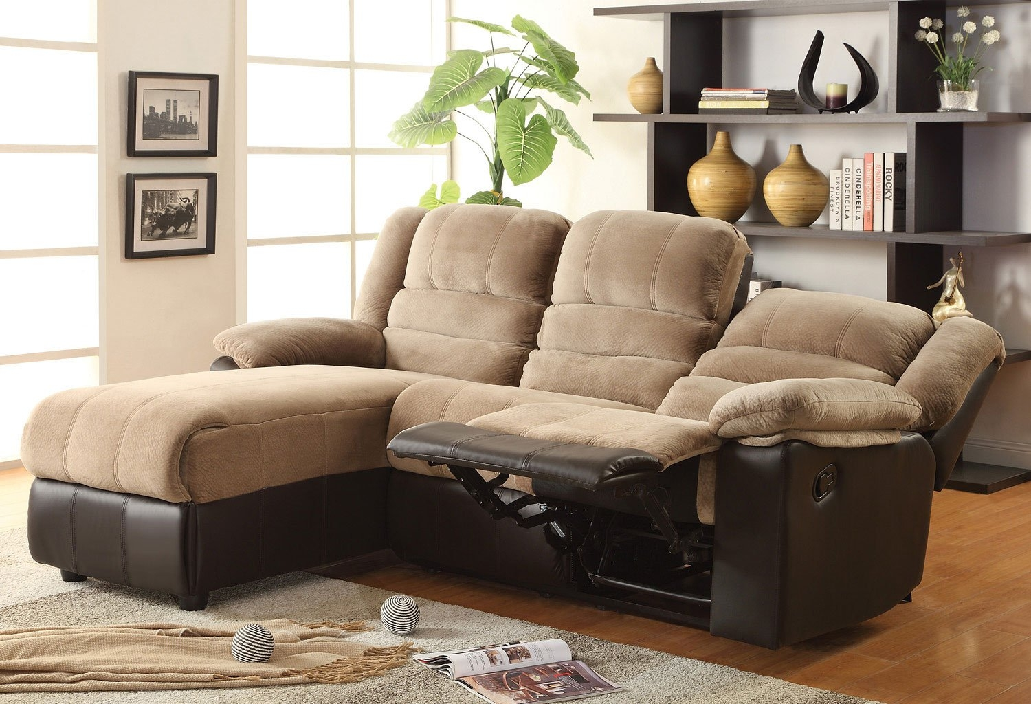 small sectional sofa with recliner visual hunt rh visualhunt com small sectional sofa with recliner and chaise sectional sofa with chaise recliner and sleeper
