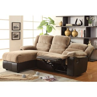Small Sectional Sofa With Recliner Visual Hunt