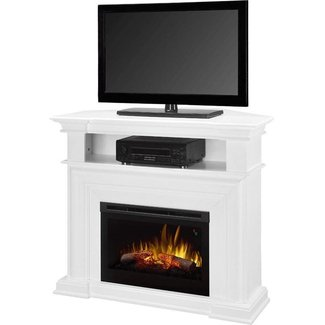 Best White Electric Fireplace TV Stand Of 2017 « TV