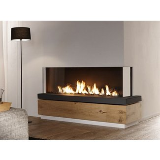 Bidore 140 Element4 Corner Direct Vent Gas Fireplace