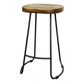 50 Wooden Tractor Seat Bar Stools You Ll Love In 2020
