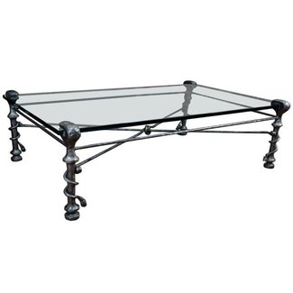 Black Wrought Iron Coffee Table | Coffee Tables Guide